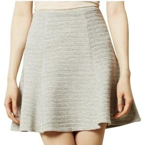 Anthropologie Maeve Crosstown Swing Skirt Size S